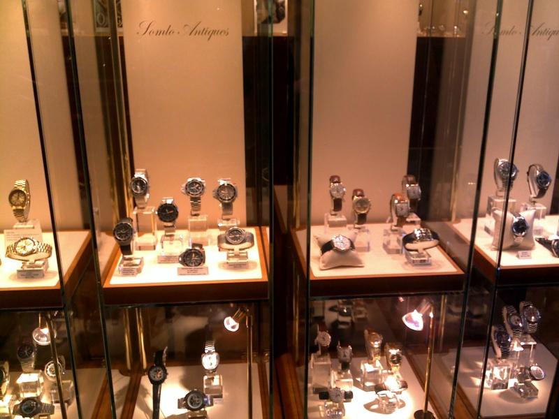 Boutique Omega Vintage à Londres, une bonne idée 10062013