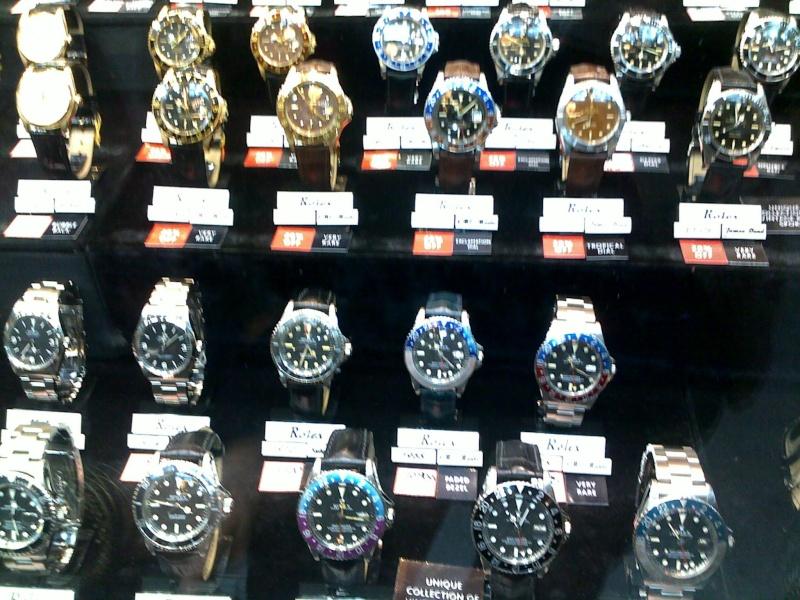 La folle boutique Rolex vintage de Londres 10062018