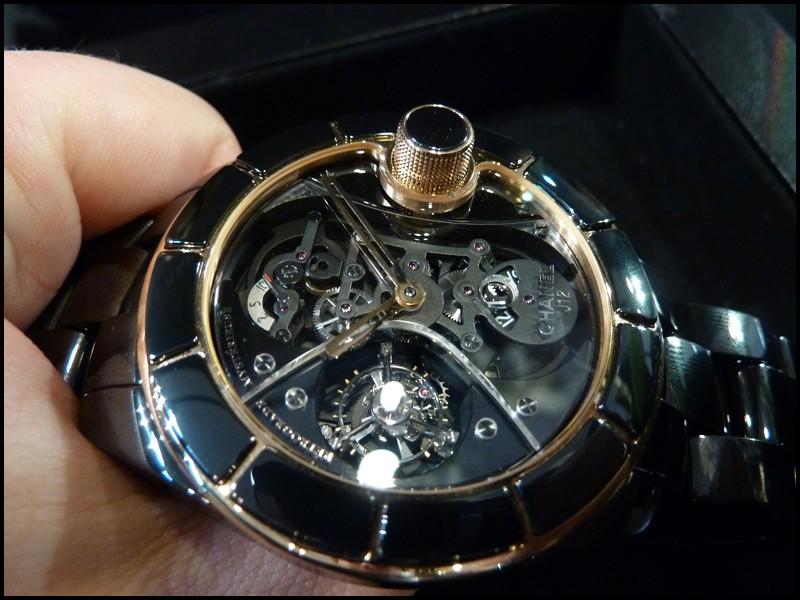 [Belles Montres 2010] Chanel J12 RM Tourbillon P1020115