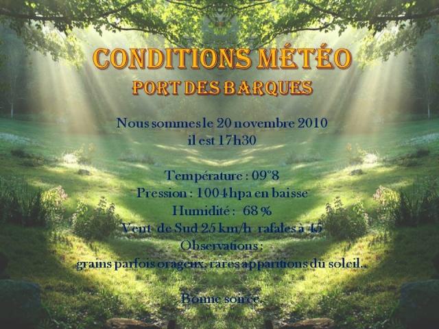 Les observations du samedi 20 novembre 2010 Matao23