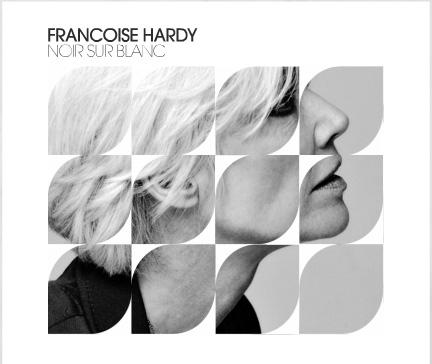 Françoise Hardy chante Noir sur Blanc sur RTL Noir_s10