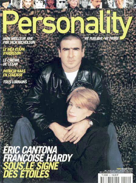 Françoise Hardy et Eric Cantona dans Personality (1er extrait) Person10