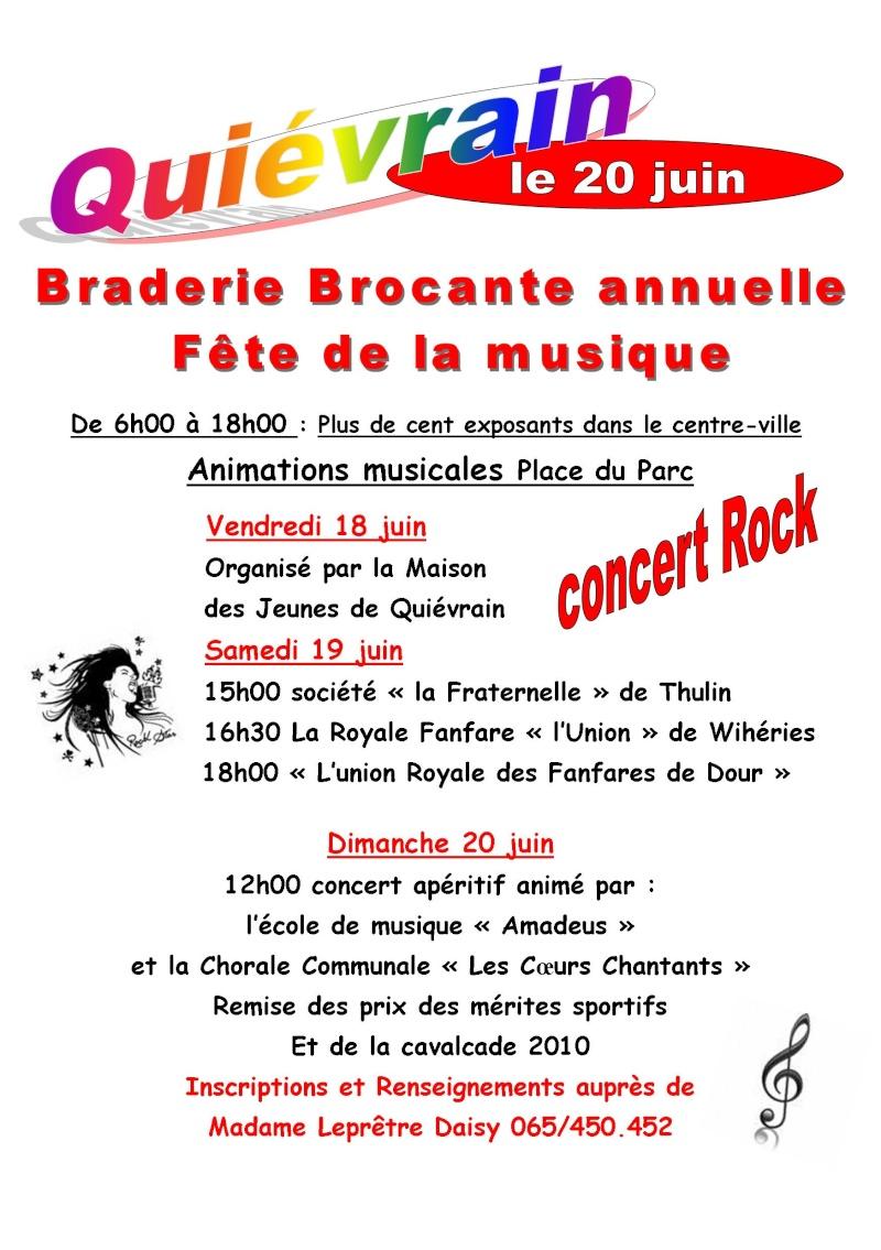 Braderie/Brocante et Fête de la Musique dans le centre ville Affich15
