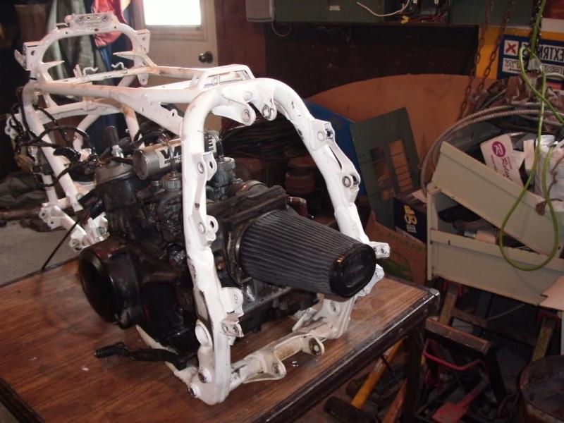 chassis 450 yfz avec moteur banshee Photo711