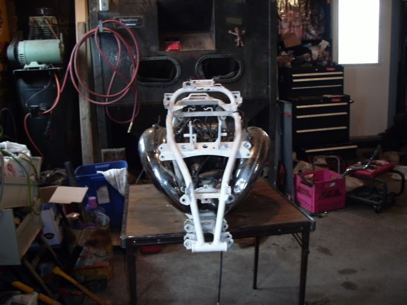 chassis 450 yfz avec moteur banshee Photo713
