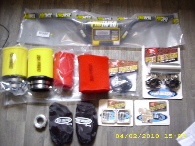 Mon BANSHEE superquader Pieces10