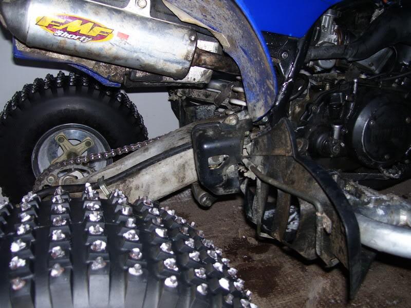 chassis 450 yfz avec moteur banshee Reedca10