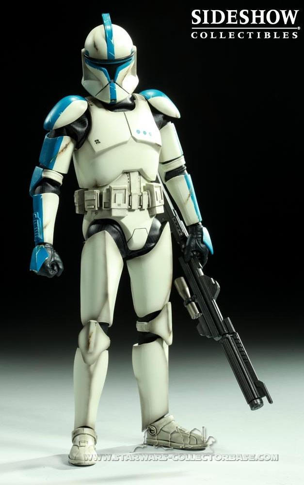 Clone Trooper Lieutenant Episode II Clone-10