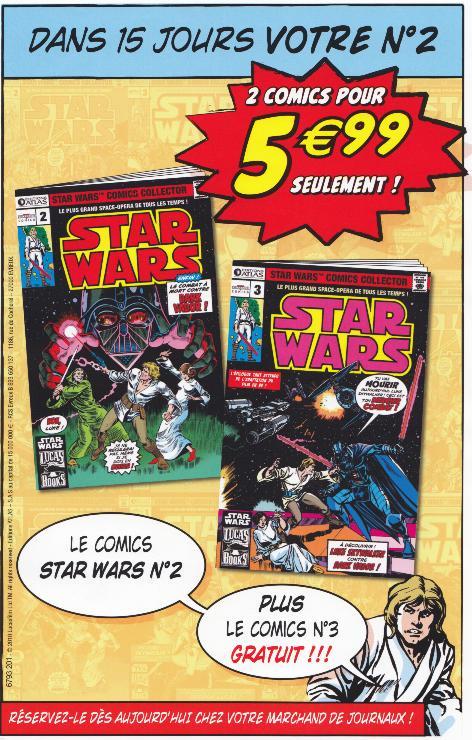 STAR WARS COMICS COLLECTOR - FEVRIER 2010 -  ATLAS - Page 2 Numaro10