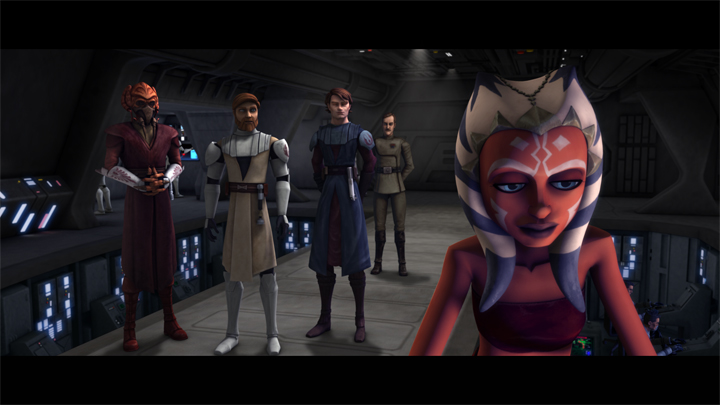 STAR WARS - THE CLONE WARS SAISON 1 EPISODES 1 - 10 Theclo16