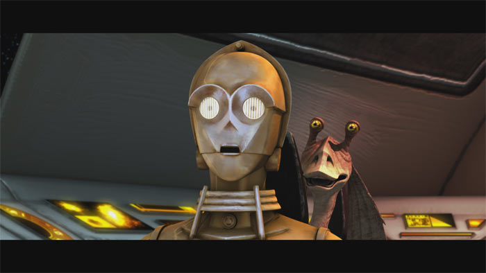STAR WARS - THE CLONE WARS SAISON 1 EPISODES 1 - 10 Theclo20