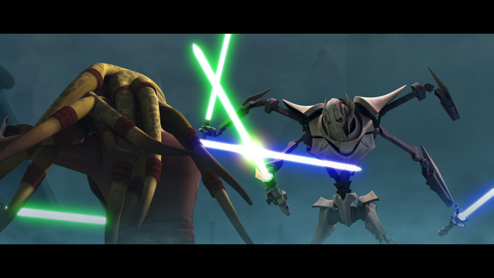 STAR WARS - THE CLONE WARS SAISON 1 EPISODES 1 - 10 Theclo22
