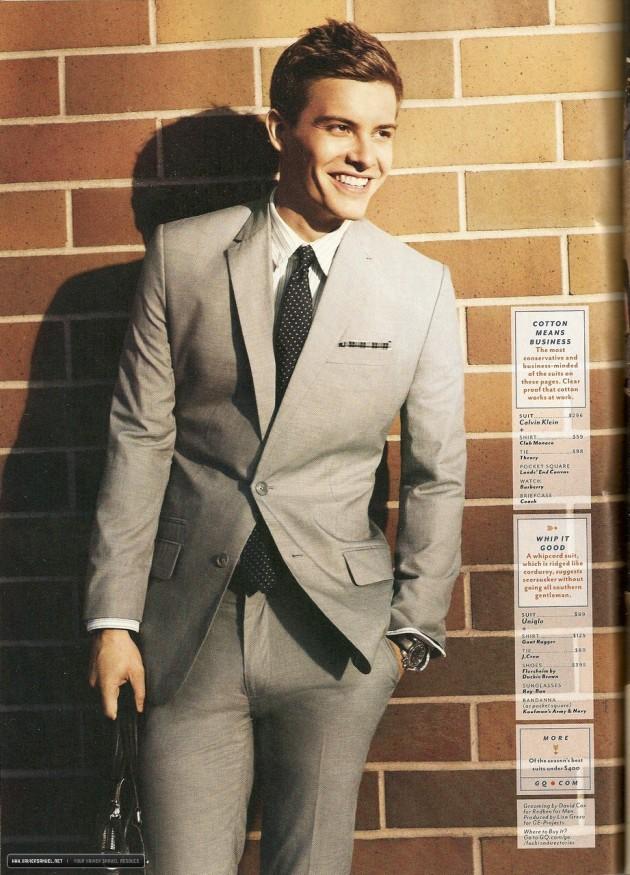 Xavier Samuel pour Teen Vogue 20b22610
