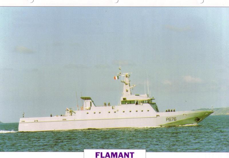 Les patrouilleurs de la Marine Nationale Flaman10