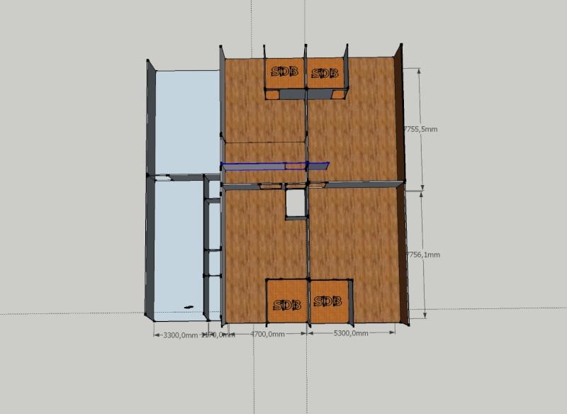 taille des chambres et salles de bain Etage-10