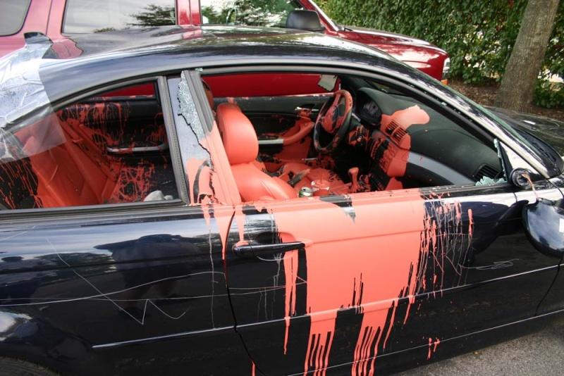 Vous avez été victime de vandalisme auto? 0210