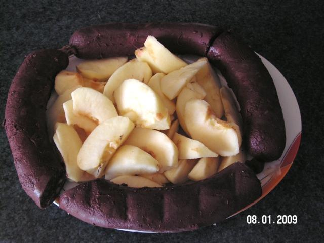 tatin de boudin aux pommes Pict0710