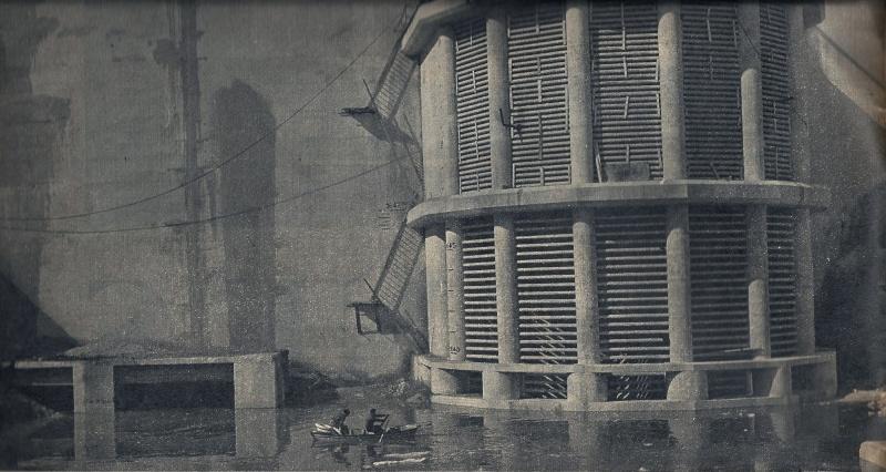 [Tignes] Le barrage de Tignes et les aménagements liés - Page 4 Barrag11