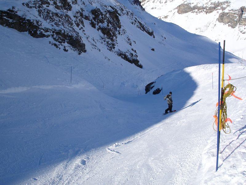 [Val d'Isère] Données sur les pistes Dsc03716