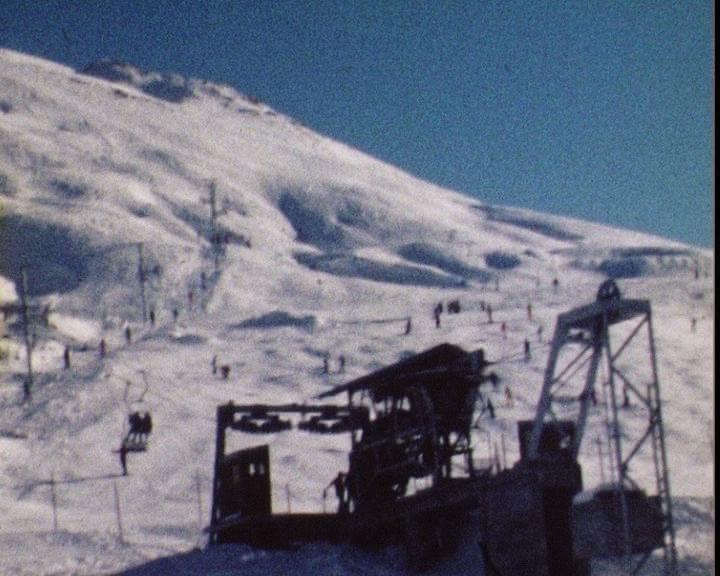 Histoire du domaine skiable de Tignes Tufs10