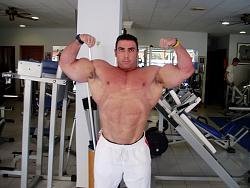 Marcos Chacon en préparation pour l'Europa Show 10020913