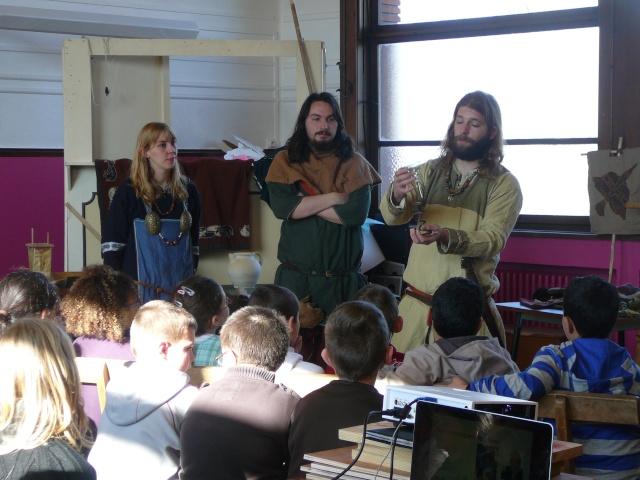 Intervention école de la paix à Mons - Mars 2010 P1130714