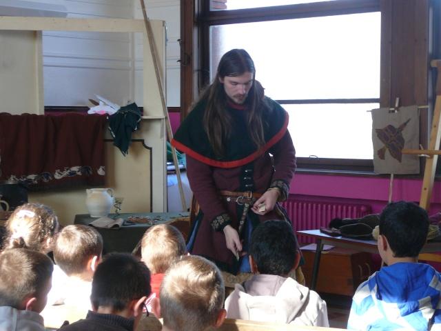 Intervention école de la paix à Mons - Mars 2010 P1130715