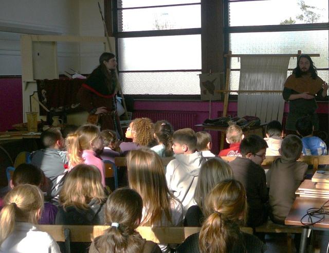 Intervention école de la paix à Mons - Mars 2010 P1130716