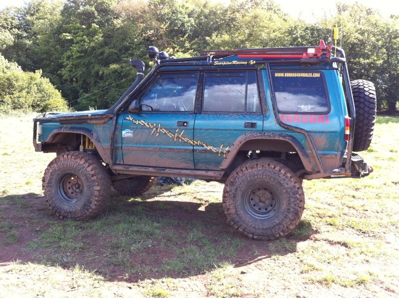 discovery 300tdi 10 inch lift and runing 38s  0011110