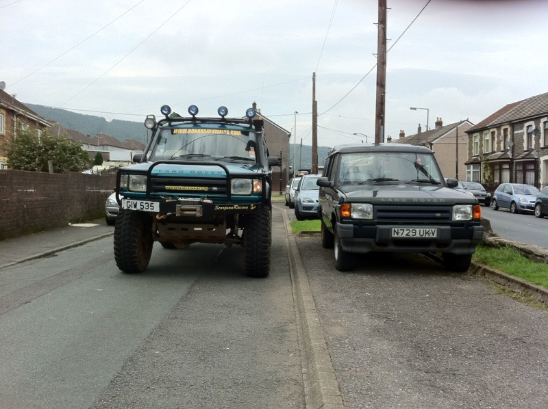 discovery 300tdi 10 inch lift and runing 38s  1301010