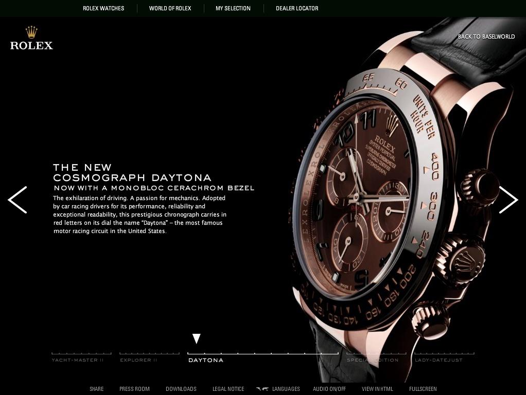 [nouveautés] Daytona Rolex Captur28