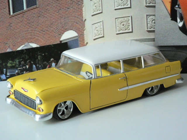 Chevrolet 1955 Station Wagon  bel air  FINI P1140652