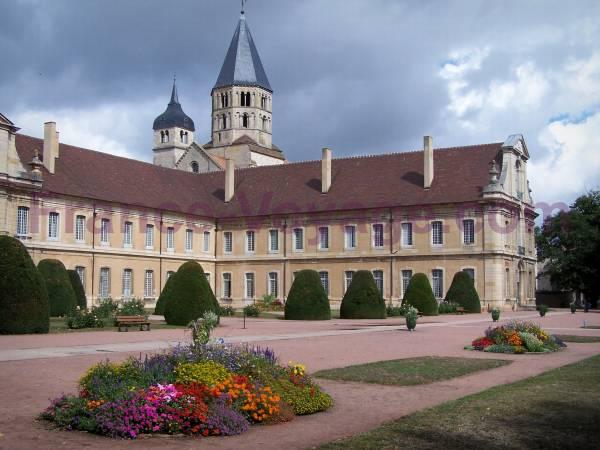 Région BOURGOGNE Abbaye10