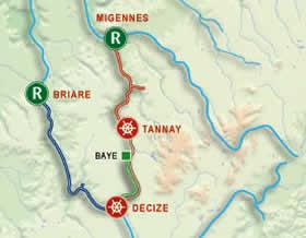 Région BOURGOGNE Carte-10