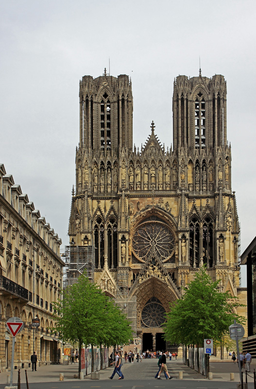 Reims la Cathédrale Img_2420