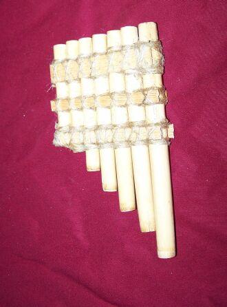 Instrumentos musicales romanos Fistul11