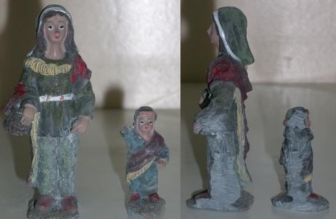 Modificación figurita 2 - Mujer y niño I Mh_0210
