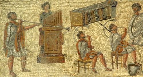 Instrumentos musicales romanos Musica10