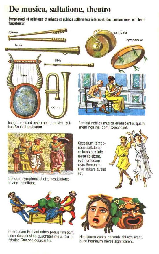 Instrumentos musicales romanos Musica11