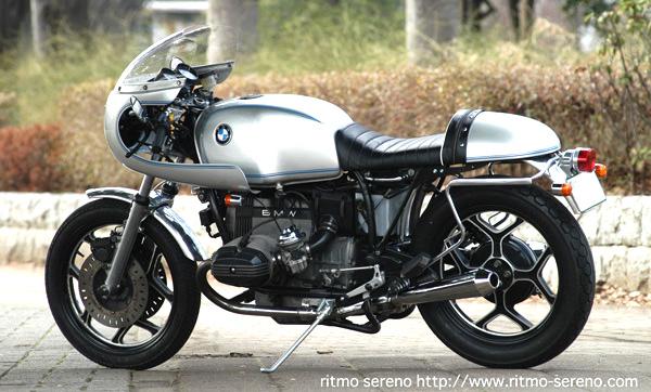 C'est ici qu'on met les bien molles....BMW Café Racer Rocket10