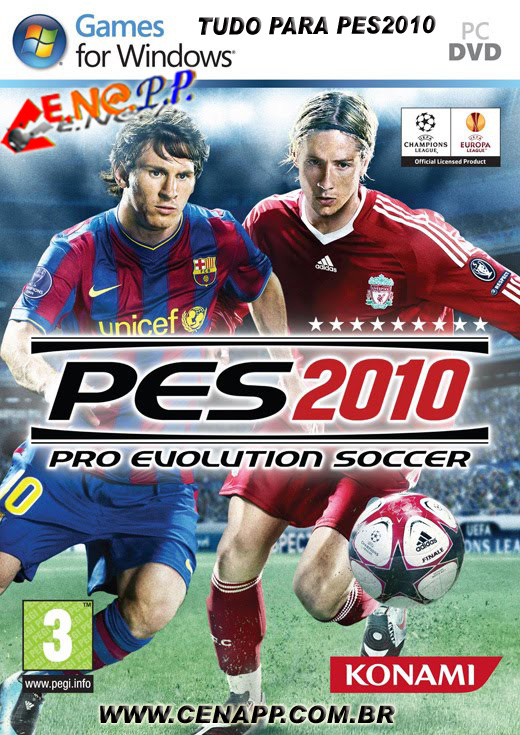 Downloads PES2010 Completo Capa_p11