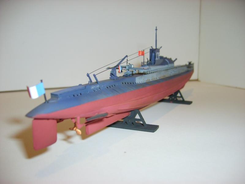 Sous marin SURCOUF Heller 1/400 S6000011