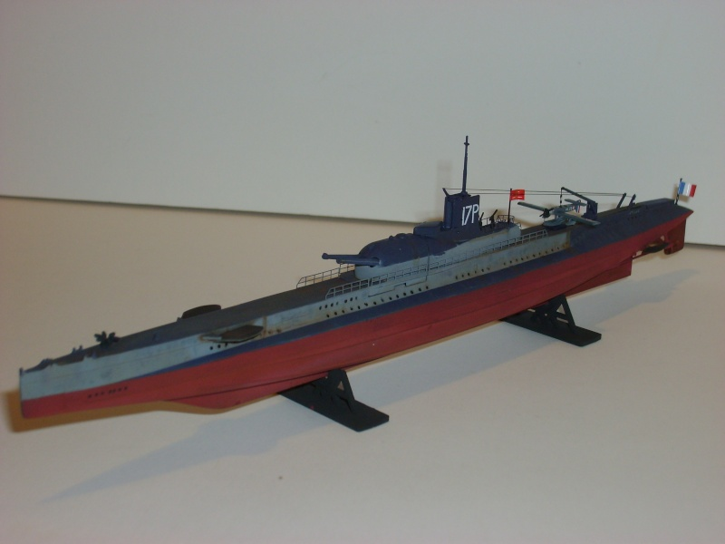 Sous marin SURCOUF Heller 1/400 S6000012