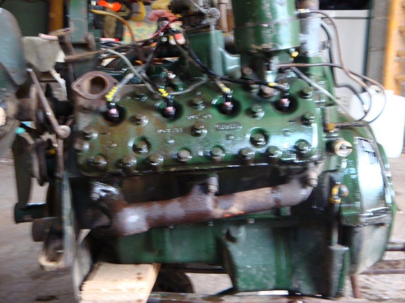 vend moteur v8 flathead 00713