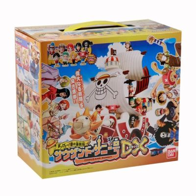One piece : Gashapon DX du thousand sunny Bandai10