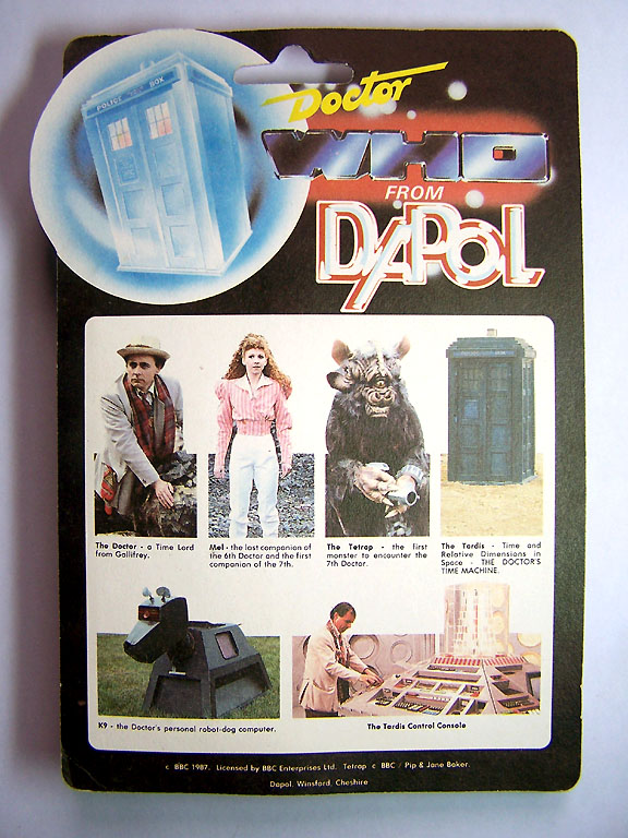 Doctor Who (Dapol) 1987 Doctor32