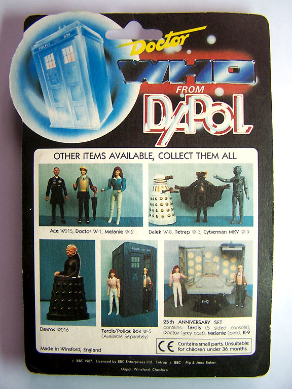 Doctor Who (Dapol) 1987 Doctor33