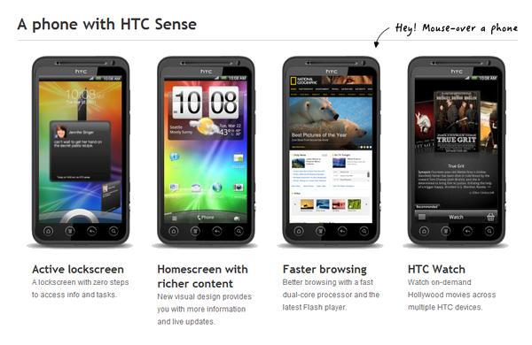 [INFO] Caractéristiques du HTC EVO 3D sous Android Htc3d10