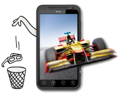 [INFO] Caractéristiques du HTC EVO 3D sous Android Htcevo10