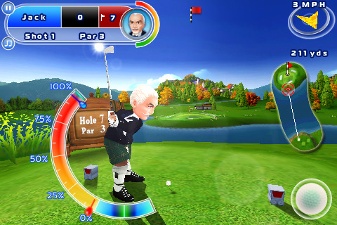 [JEU] LET'S GOLF! 2 HD : Le second volet du jeu de golf de Gameloft [Payant] Lets-g11